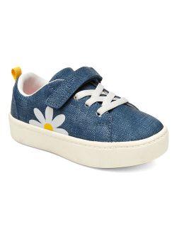 Carter's Blue Daisy Petra Sneaker - Girls