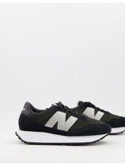237 sneakers in black
