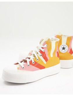Chuck Taylor All Star Lift Hi Summer Spirit sneakers in multi