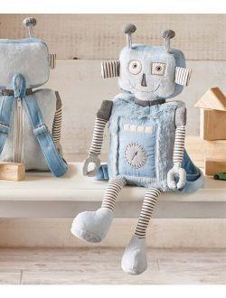 Blue Rivet Robot Backpack