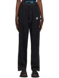 We11done Black Carpenter Lounge Pants