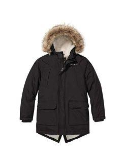 Boys Parka Coat - Down Winter Coat, Fur Hood