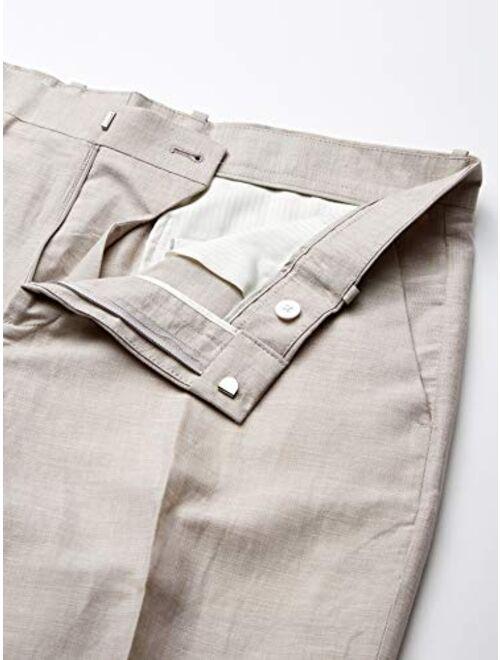 Perry Ellis Big & Tall Linen Suit Pant Men's Big and Tall