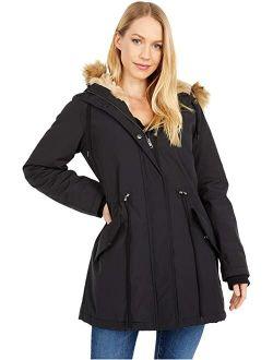 Arctic Cloth Parka with Hood