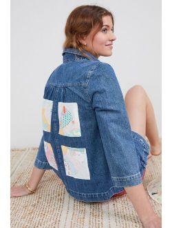 Carleen Patchwork Denim Jacket