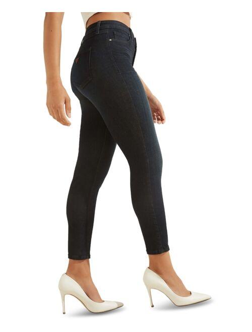 Guess 1981 Stretch Denim High Rise Skinny Jeans