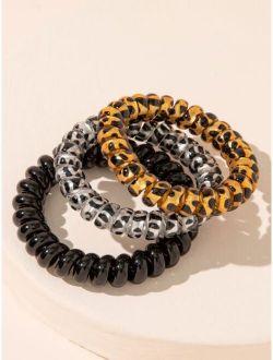 3pcs Coil Wire Hair Tie