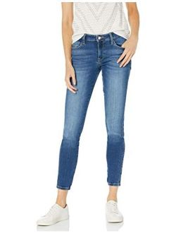 Women's Sexy Curve Mid-rise Stretch Skinny Fit Jean