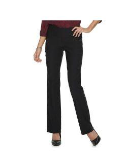S Apt. 9® Tummy Control Millennium Pull-on Bootcut Dress Pants