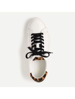 Saturday sneakers with leopard calf hair detail