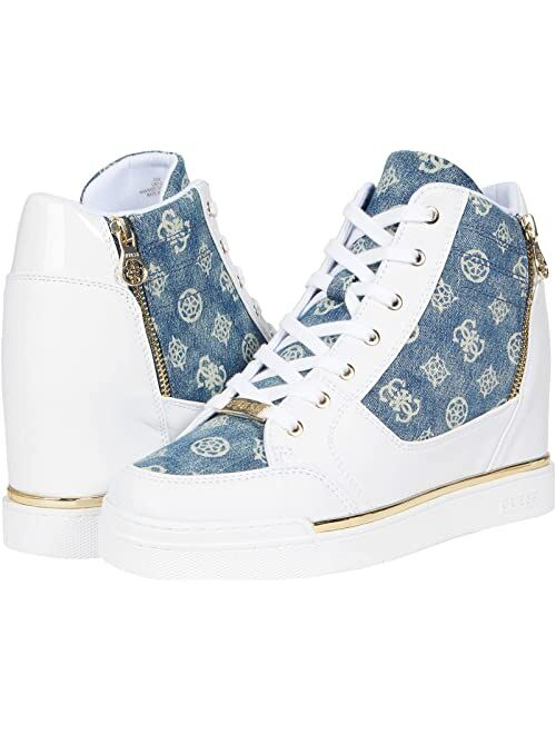 Guess Figz Lace-Up High Ankle Sneaker