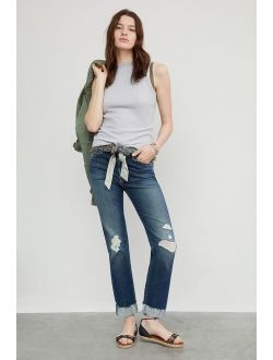 MOTHER The Scrapper Slim Straight Jeans