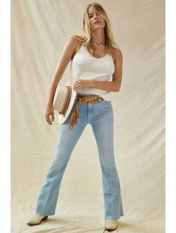 MOTHER The Weekender Flare Jeans