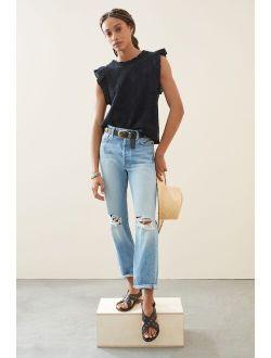 EDWIN Tash Ultra High-Rise Straight Jeans
