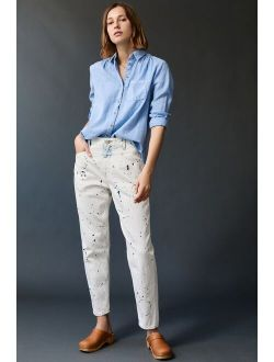 Closed Excellent Ultra High-Rise Tapered Jeans
