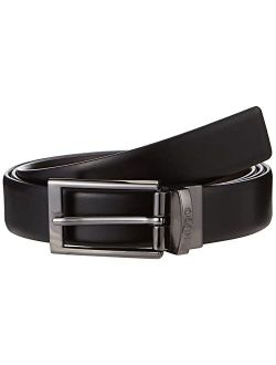 Men's Elvio-u Sized Reversible Italian Leather Belt