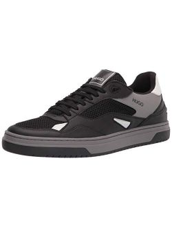 Ugo Boss Men's Contemporary Low Top Leather Sneaker