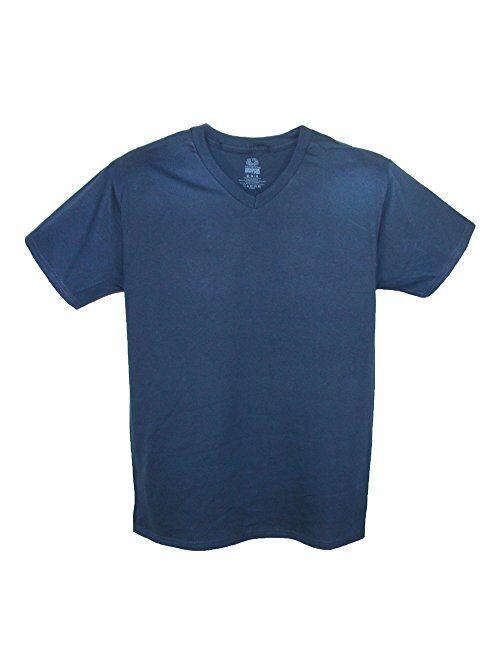 Fruit of the Loom Men's V Neck Cotton T Shirt