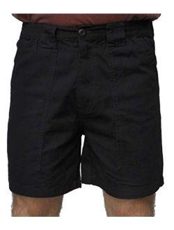"""Trod Men's Deep Pockets Short, 6"""" Inseam"""