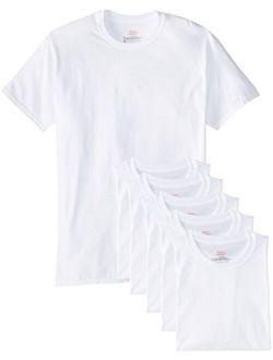 White Tagless Comfortsoft Crewneck Undershirt (includes 1 Free Bonus Crewneck) (2135c7)