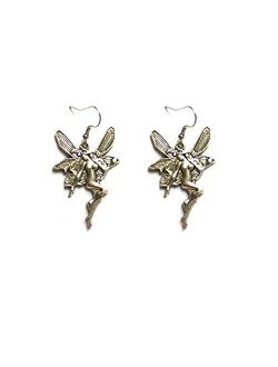 Punk Earrings Dangle Goth Unique Earrings for Women Indie Alt Aesthetic Cool Earrings Angel Wings Human Earrings Vintage Jewelry