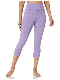 Women's Spectrum Yoga High Waist Capri Legging-21