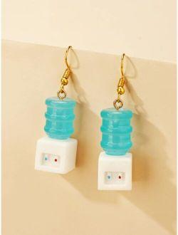 Water Dispenser Dangle Earrings