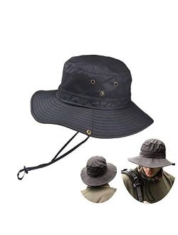 HYCOPROT Sun Hat Outdoor UV Protection Wide Brim Fishing Hiking Boating Cap…