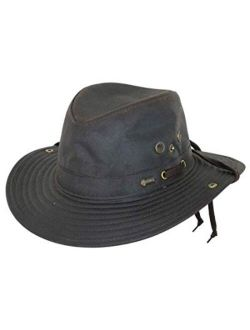 Outback Trading 1497 River Guide UPF 50 Waterproof Breathable Outdoor Cotton Oilskin Hat