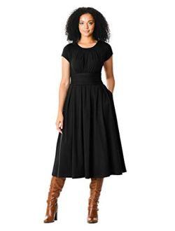 Fx Chelsea Knit Dress- Customizable Neckline, Sleeve & Length