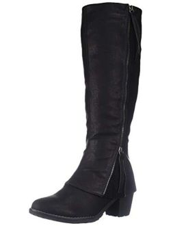 Women's Lacy Boots - Grey