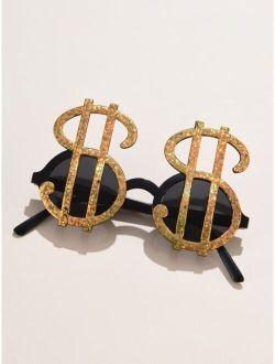 Dollar Sign Decor Sunglasses