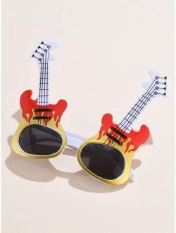 Musical Instrument Design Frame Sunglasses