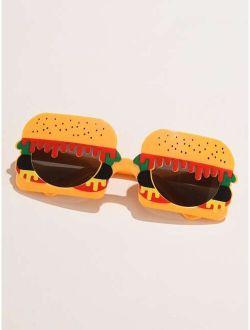 Hamburger Shaped Frame Sunglasses