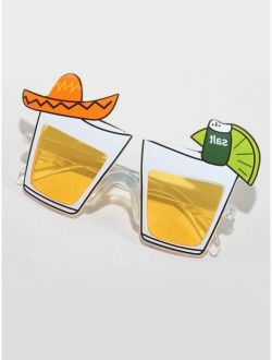Orange Juice Design Sunglasses