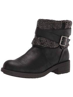 Women's Trepp Grand Pu/shepherd Fabric Ankle Boot