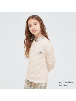 KIDS ULTRA STRETCH LONG-SLEEVE SWEATSHIRT
