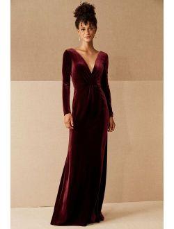 Jenny Yoo Ryland Velvet Dress