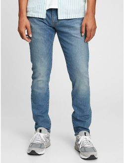 Flex Slim Fit Jeans With Washwell™