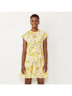 Women's LC Lauren Conrad Keyhole Dress