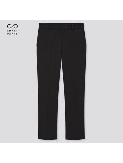 WOMEN SMART 2-WAY STRETCH SOLID ANKLE-LENGTH PANTS