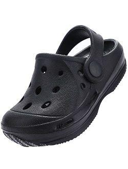 Kids Classic Garden Clogs | Slip On Water Sandals Shoes For Girls Boys | Toddler, Little Kid, Big Kid