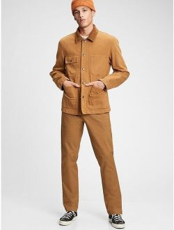Ern Khakis In Athletic Taper Pant With Gapflex