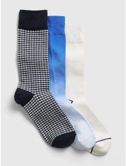 Soft knit Crew Socks (3-pack)
