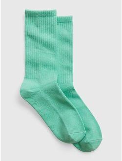 100% Organic Cotton Crew Socks