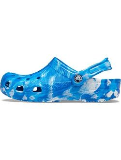 Men's And Women's Classic Marbled Tie Dye Clog