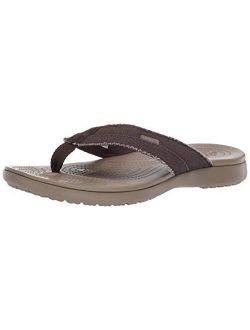 Men's Santa Cruz Canvas Flip Flops | Sandals