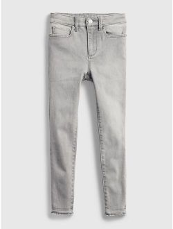 Kids High Rise Jeggings with Washwell™