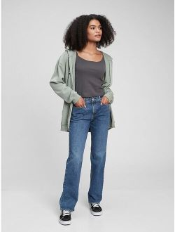 Teen Mid Rise 90's Loose Jeans with Washwell®