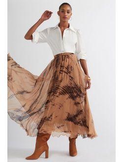 Mes Demoiselles Tie-Dye Maxi Skirt